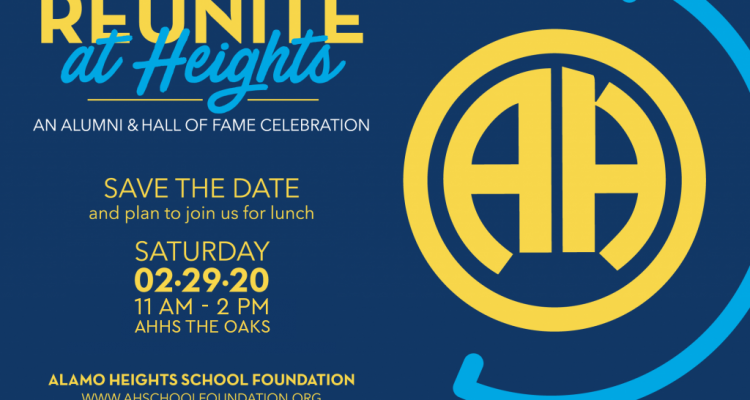 Alumni: Reunite at Heights & Hall of Fame