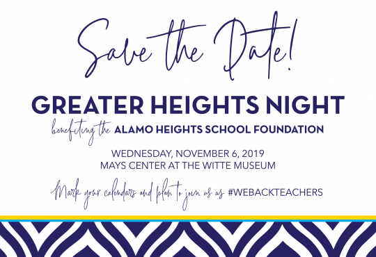 Greater Heights Night 2019