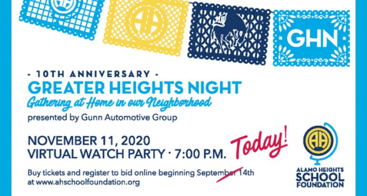 Heights Happenings: September 14 2020